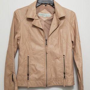 Cleo Faux Leather Jacket